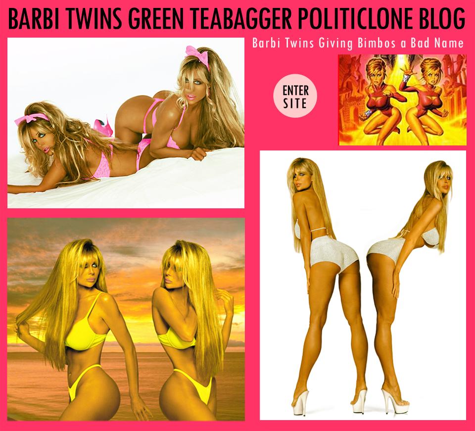 Barbi Twins Bimbo Politics Blog